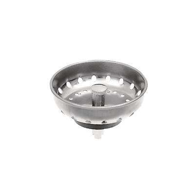 4 in. Easy Mount Sink Basket Strainer