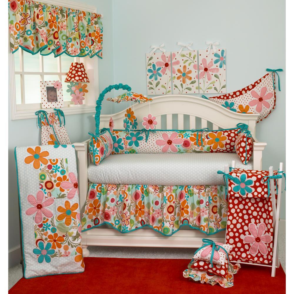 null Lizzie 4-Piece Crib Bedding Set