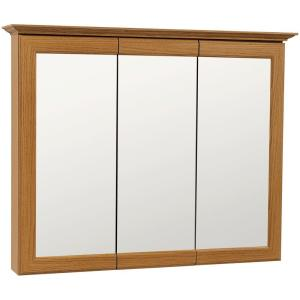 glacier bay medicine cabinet glacier bay 37 in w x 30 in h framed surface mount 15803
