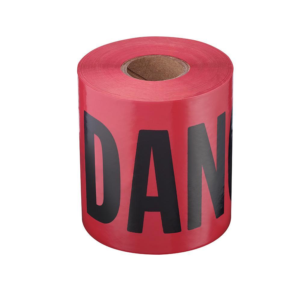 3 in. x 200 ft. Danger Barricade Tape