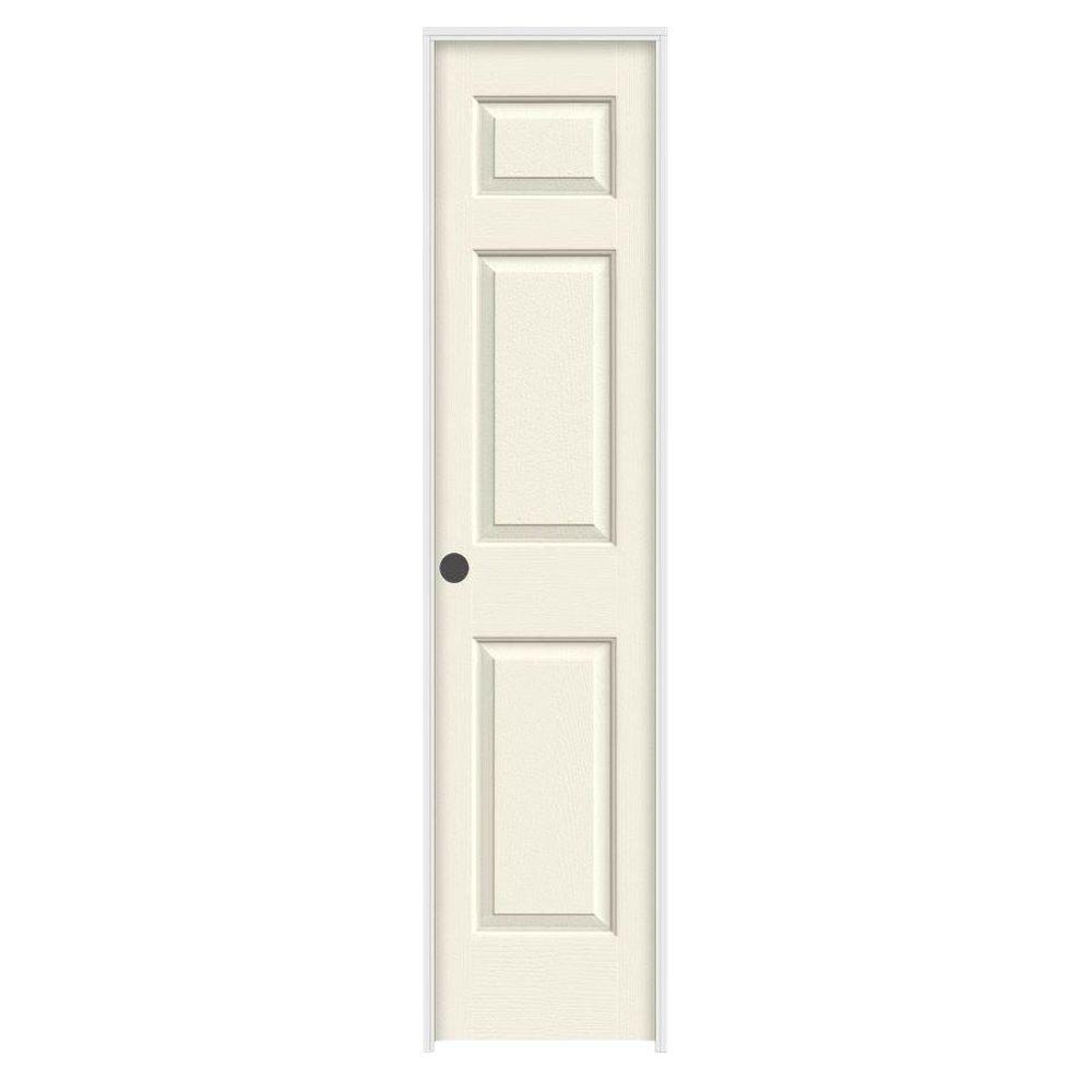 Jeld wen 18 in x 80 in colonist vanilla painted right for 18x80 prehung door