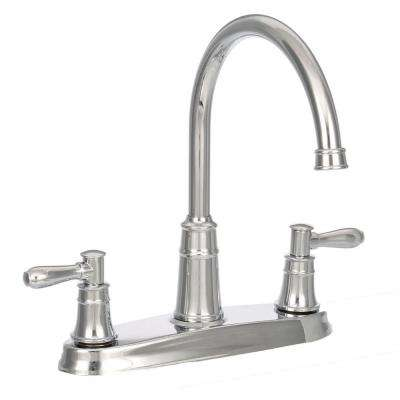 Harbor High-Arc 2-Handle Standard Kitchen Faucet in Polished Chrome