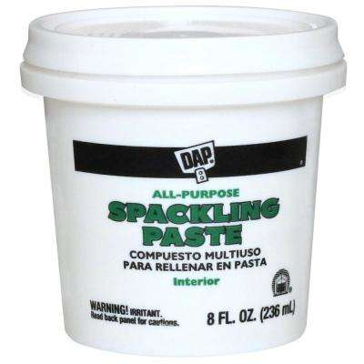 Spackling Paste 8 oz. White All-Purpose
