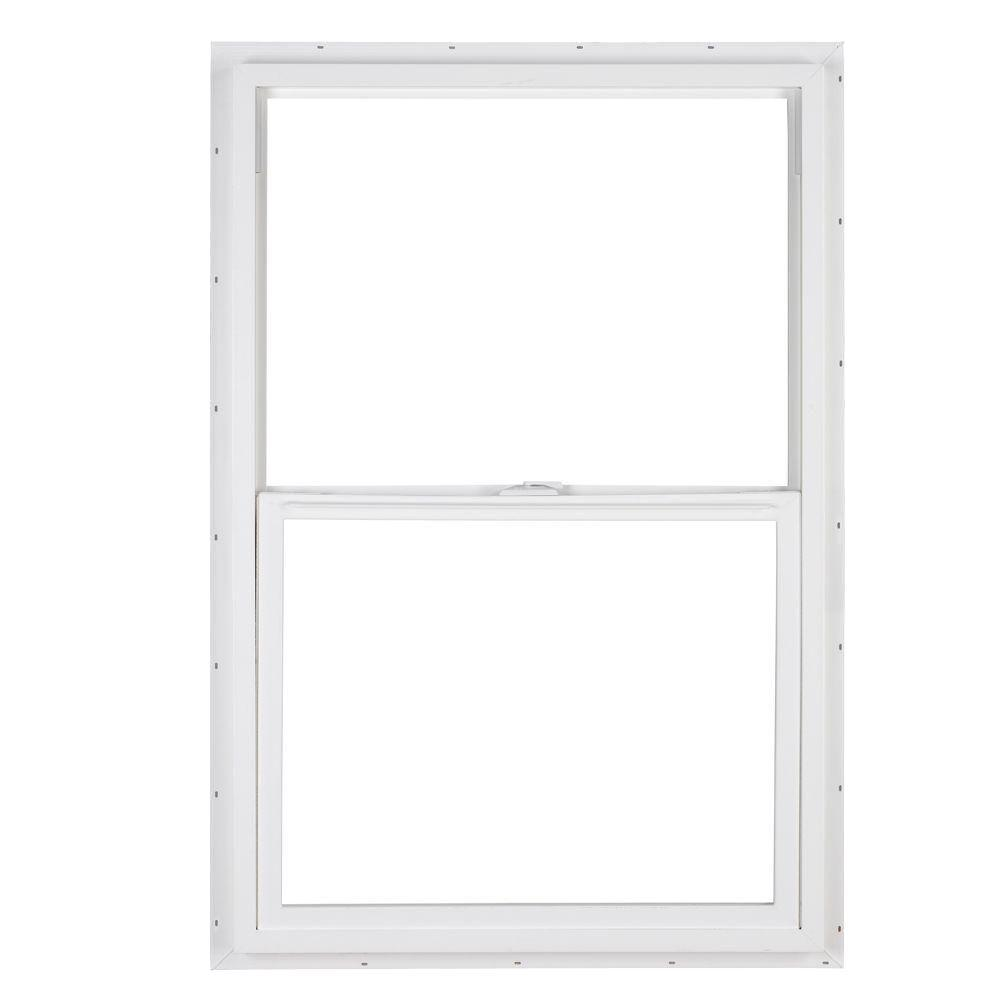 SIMONTON 36 in. x 48 in. DaylightMax Single Hung Vinyl Window - White