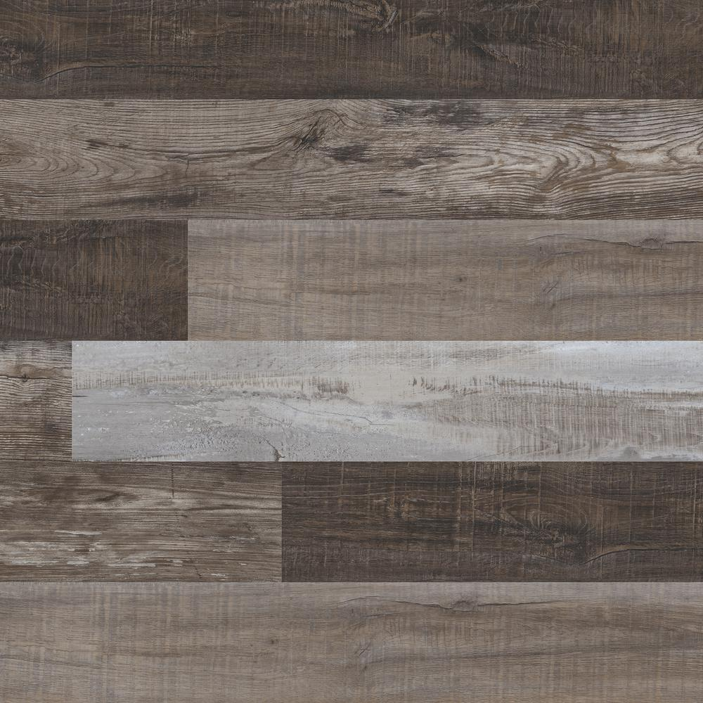 MSI Woodland Hickory Lake 7 in. x 48 in. Rigid Core Luxury Vinyl Plank Flooring (55 cases / 1309 sq. ft. / pallet)