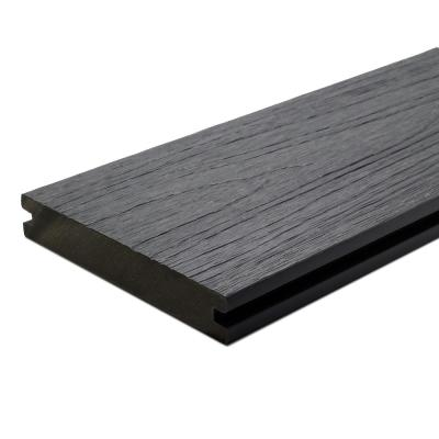 UltraShield Naturale Magellan 1 in. x 6 in. x 16 ft. Westminster Gray Groove Composite Decking Board (10-Pack)