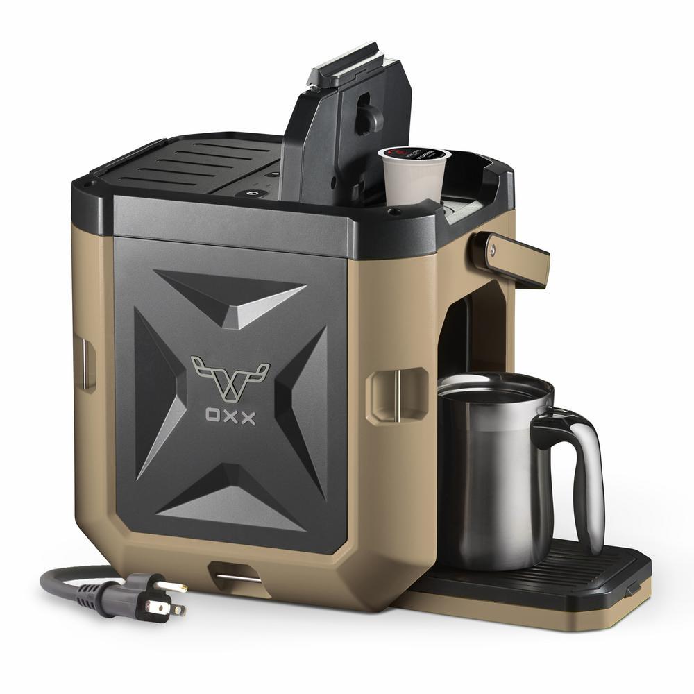 COFFEEBOXX Desert Tan Single Serve Coffee Maker