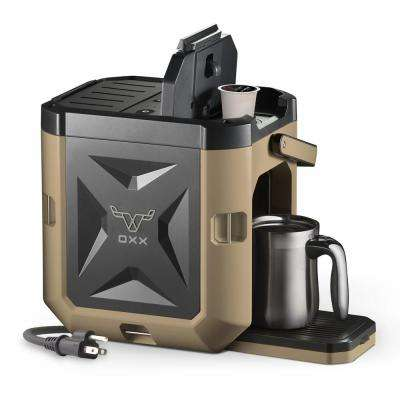 COFFEEBOXX Single Serve Coffee Maker in Desert Tan
