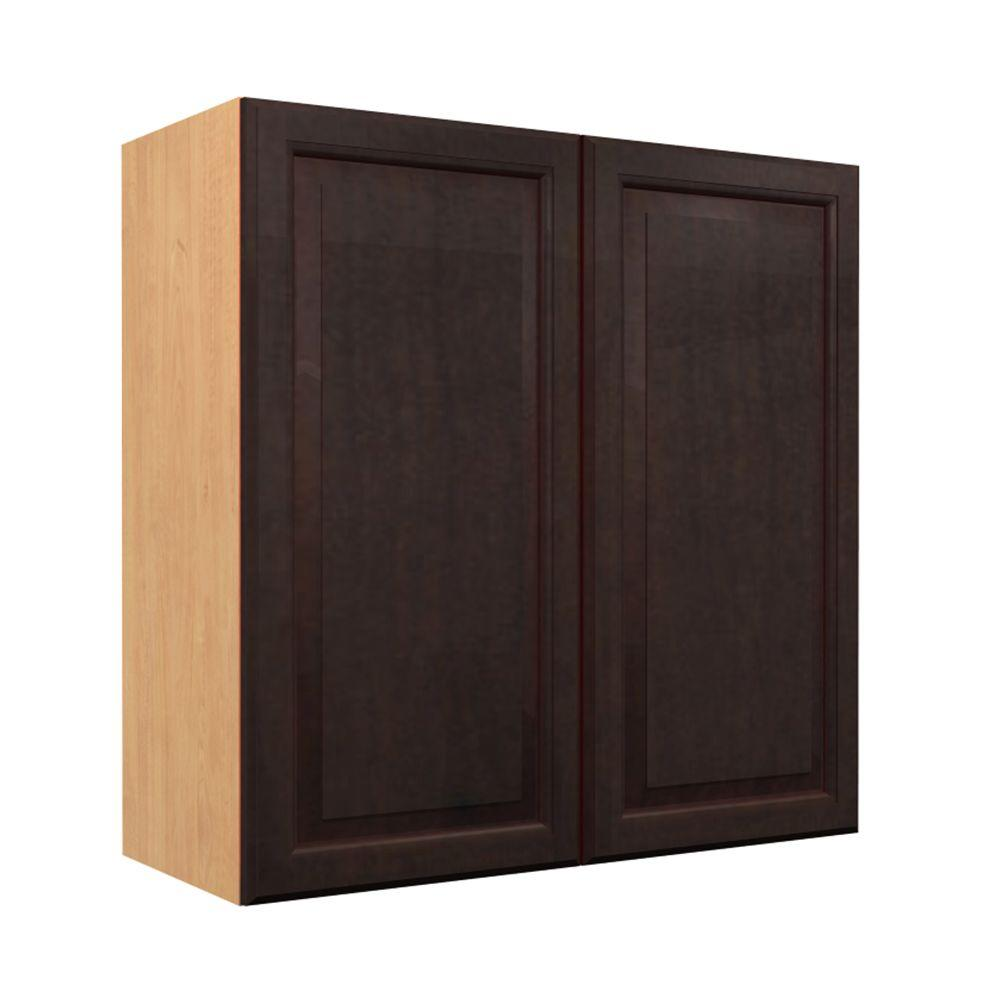 Wall Cabinet Frosted Pull Down Shelves Doors Melamin Photo 257