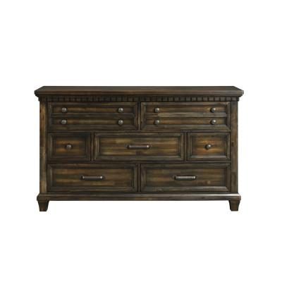 Johnny 2-Drawer Smokey Walnut Media Chest