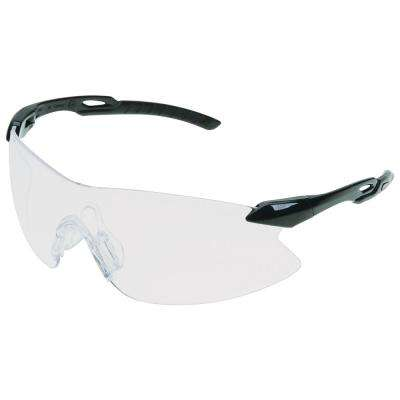 Strikers Eye Protection, Black Temple and Clear Anti-Fog Lens