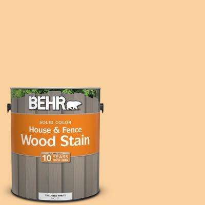 1 gal. #310C-3 Warm Cocoon Solid Color House and Fence Exterior Wood Stain