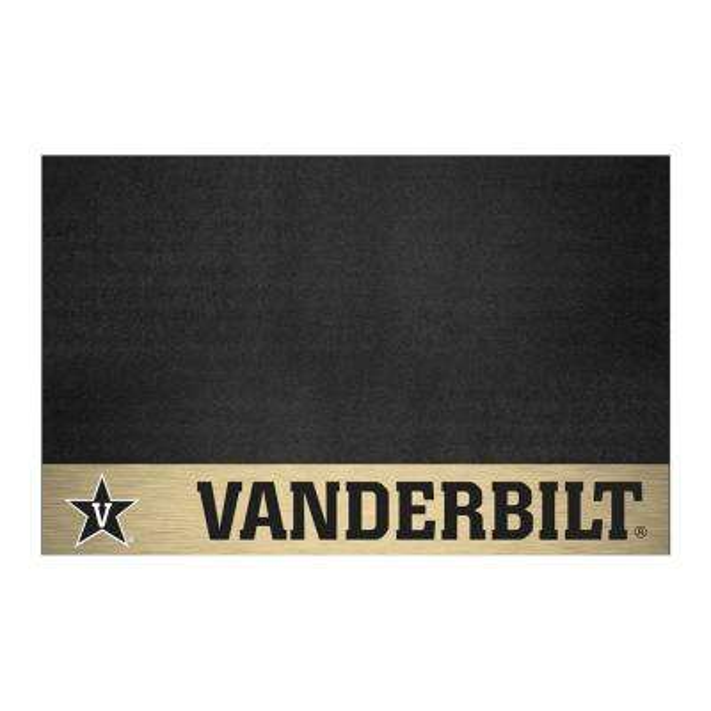 NCAA 26 in. x 42 in. Vanderbilt University Grill Mat