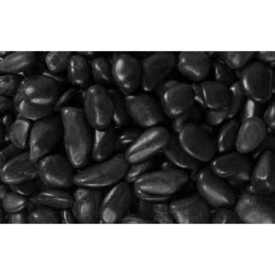 0.25 cu. ft. 1 in. to 2 in. 20 lbs. Black Grade A Polished Pebbles (54-Pack Pallet)