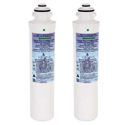 Under-sink Replacement Quick Connect Water Filter Kit Fits VFK-1Q