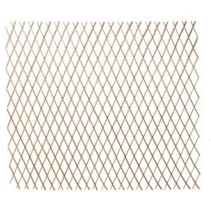 48 in. H x 120 in. L. W Bamboo Expandable Willow Fence or Trellis