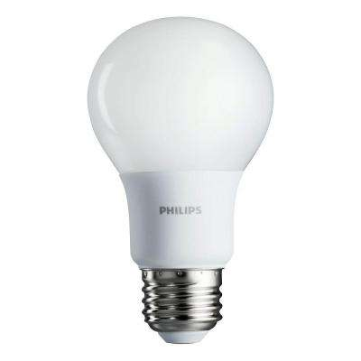 40W Equivalent Soft White A19 Non-Dimmable LED Household Light Bulb (4-Pack)
