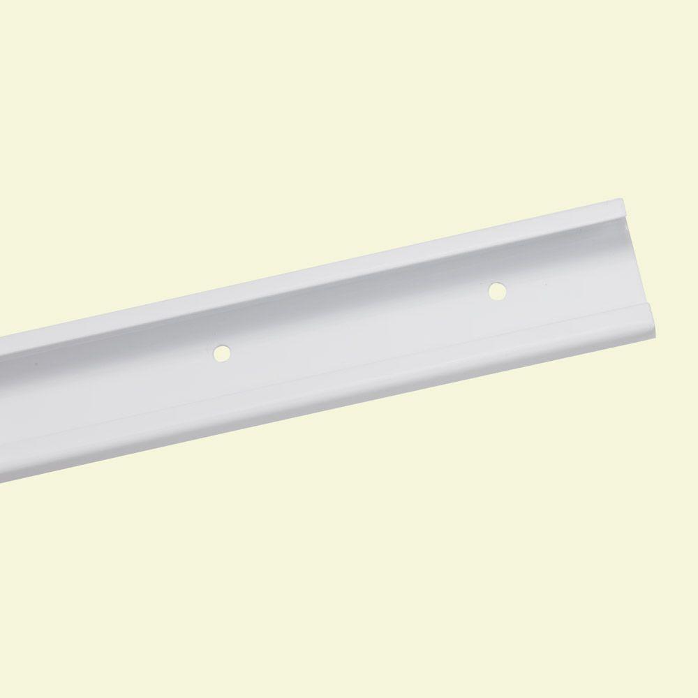 ClosetMaid ShelfTrack 80 in. White Hang Track