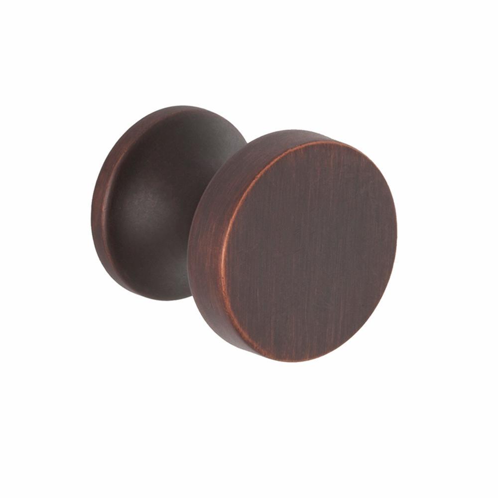 High Desert 1 in. Oil Rubbed Bronze Round Cabinet Knob