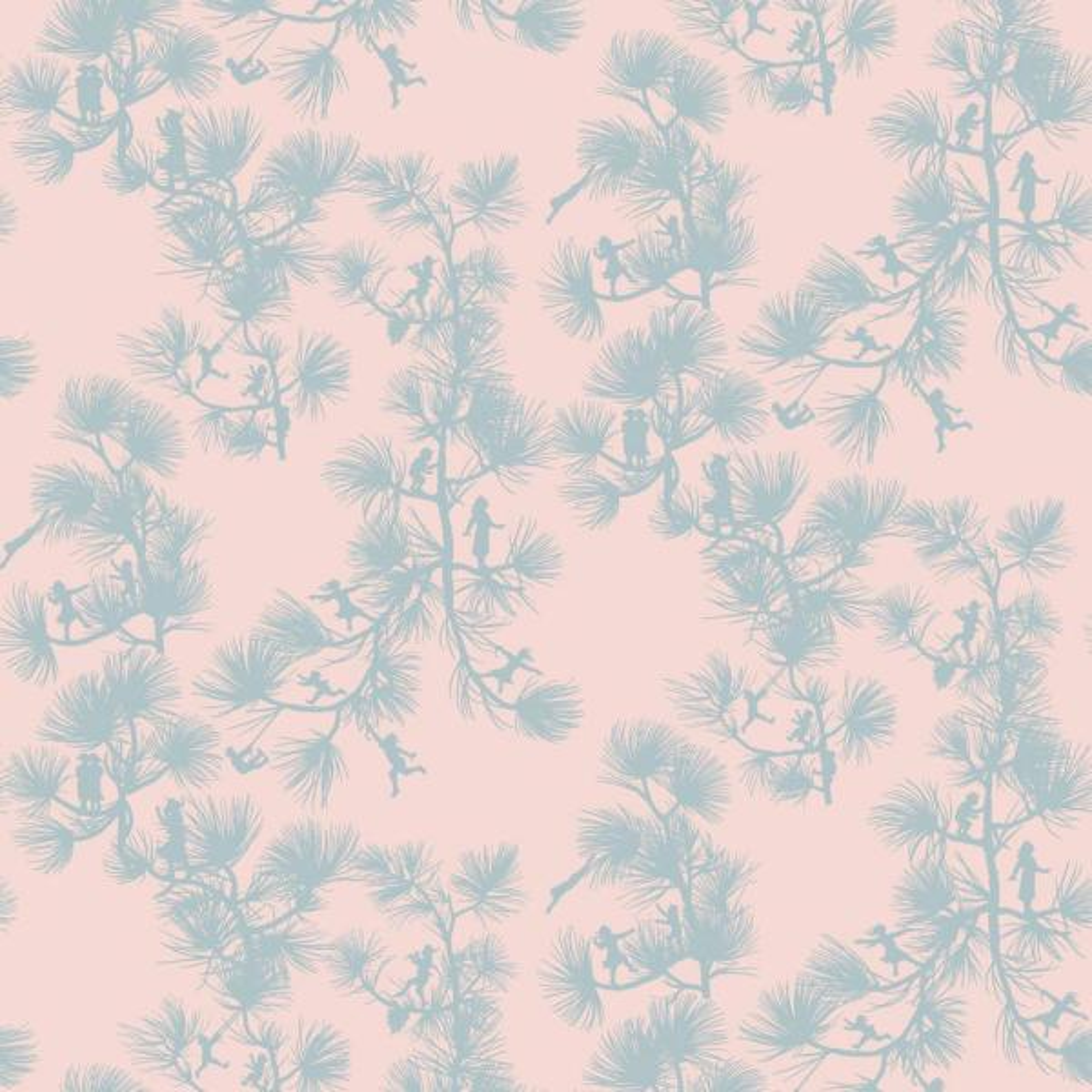 Mitchell Black Baby Collection Fairy Forest in Baby Pink Premium Matte