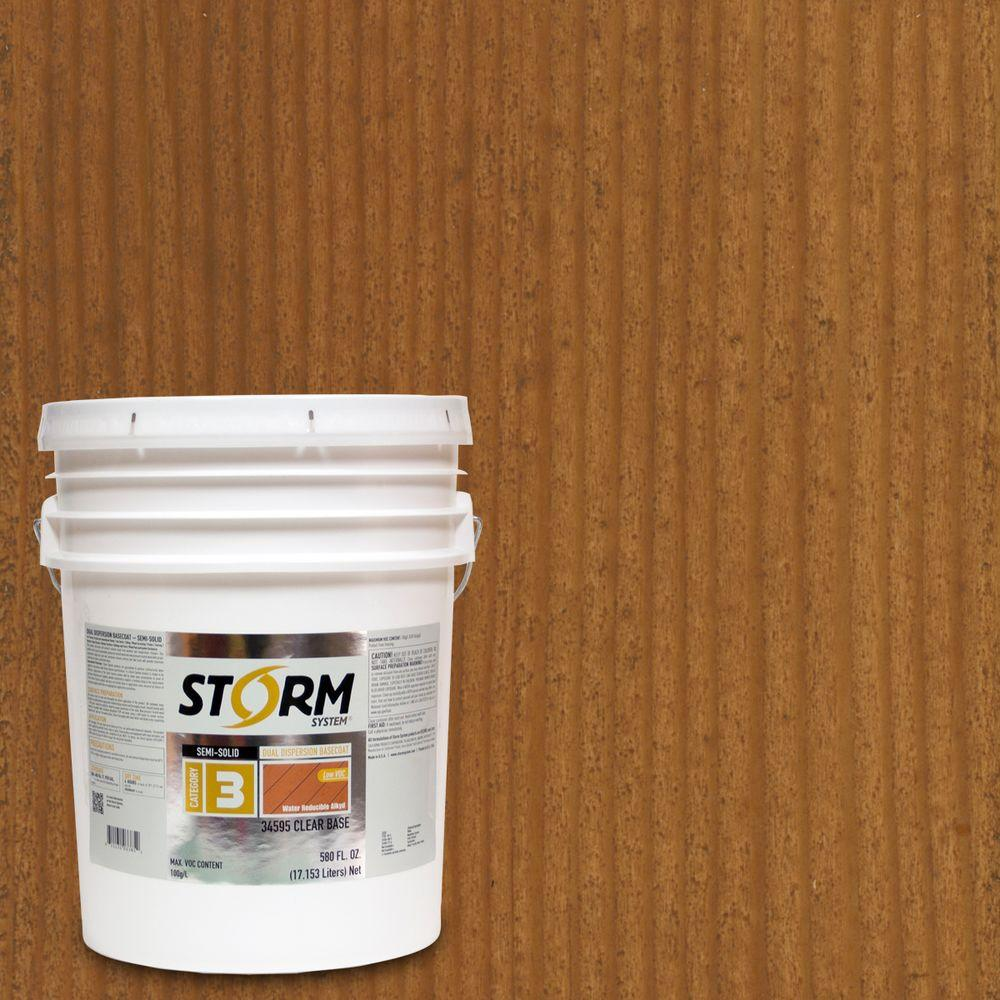 Storm System 5 gal. Nature Trail Exterior Semi-Solid Dual Dispersion Wood Finish