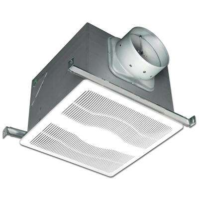 130 CFM Ceiling Single Speed Humidity Sensing Exhaust Fan