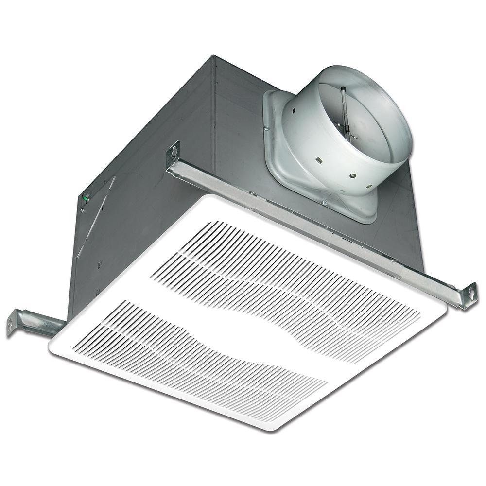 ENERGY STAR® Certified Ultra Quiet ECO 130 CFM Humidity Sensing Ceiling Bathroom Exhaust Fan