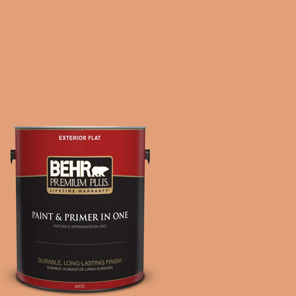 1-gal. #M220-5 Roasted Seeds Flat Exterior Paint