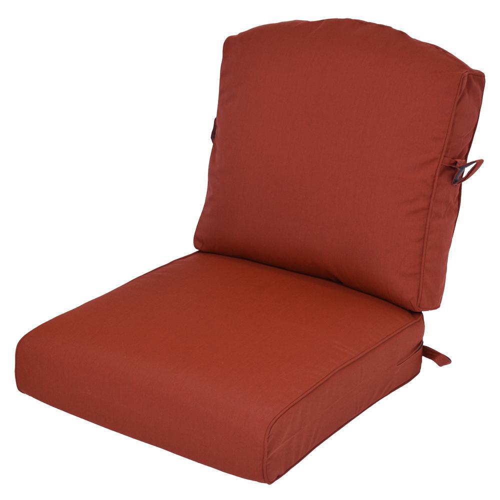 Sunbrella Canvas Henna 2 Piece Deep Seating Outdoor Lounge Chair