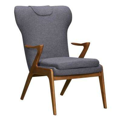 Ryder Dark Grey Fabric Accent Chair