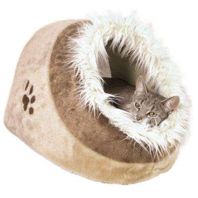 Gray Minou Cuddly Cat Condo
