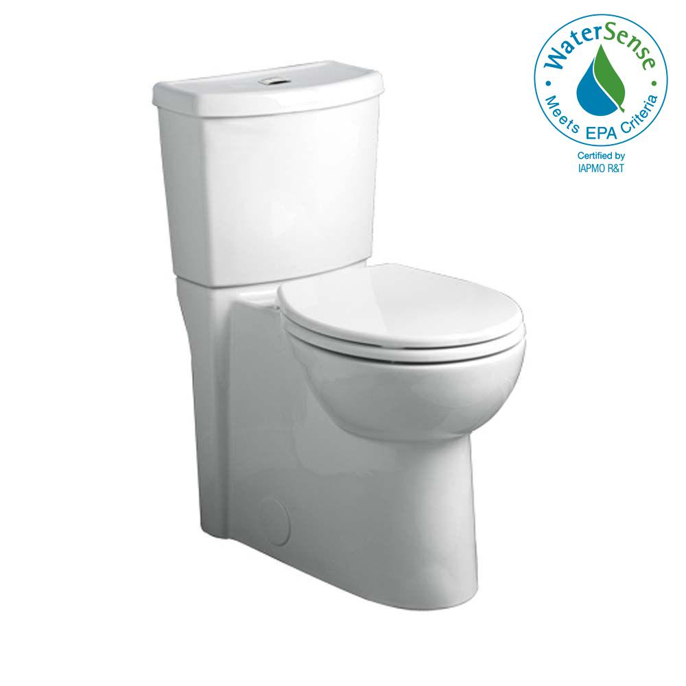 Studio Tall Height Dual 2-Piece 1.6 GPF Dual Flush Elongated Toilet