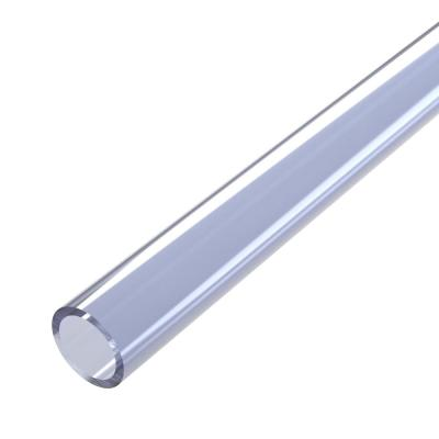 1/2 in. x 5 ft. Furniture Grade Sch. 40 PVC Pipe in Clear