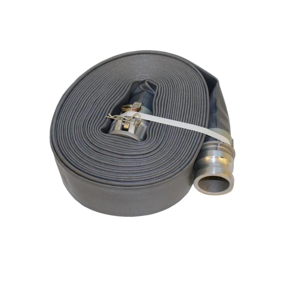 Wacker Discharge/Extension Hose Kit for 3 in. Trash, Diaphragm, and Centrifugal Pumps