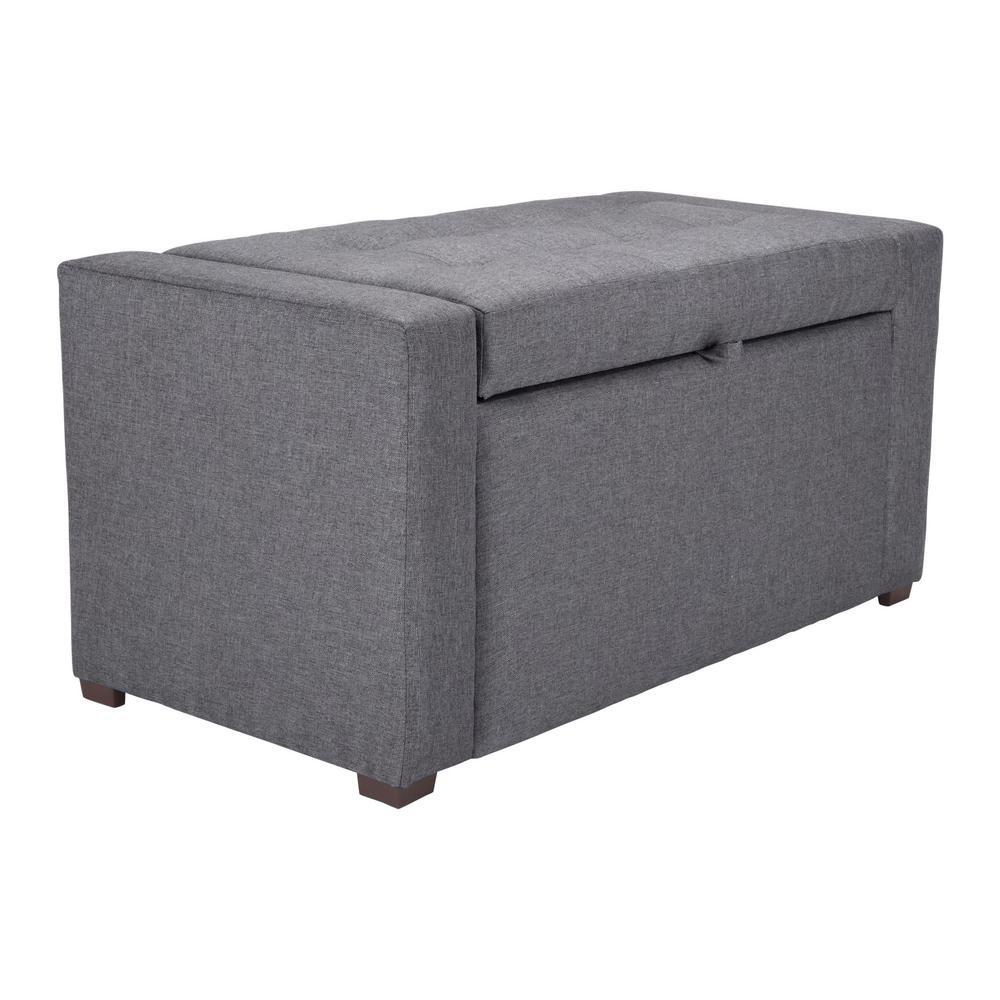 Anderson Dark Gray Bench