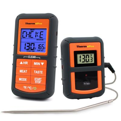 Digital Remote Wireless Cooking Thermometer with Timer