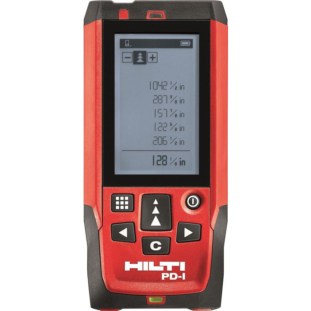 Hilti PD E Laser Range Meter 2062051 The Home Depot