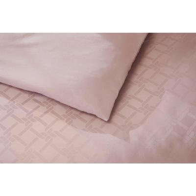 Blakeley 3-Piece Dusty Mauve Geo Duvet Cover Set