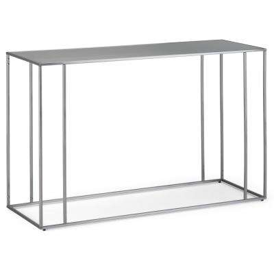 Sloan Stainless Steel Console Table