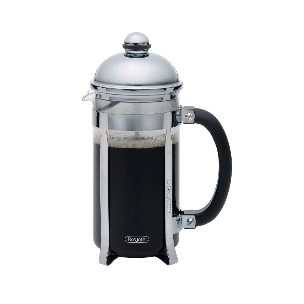 BonJour Maximus 8-Cup French Press in Stainless Steel