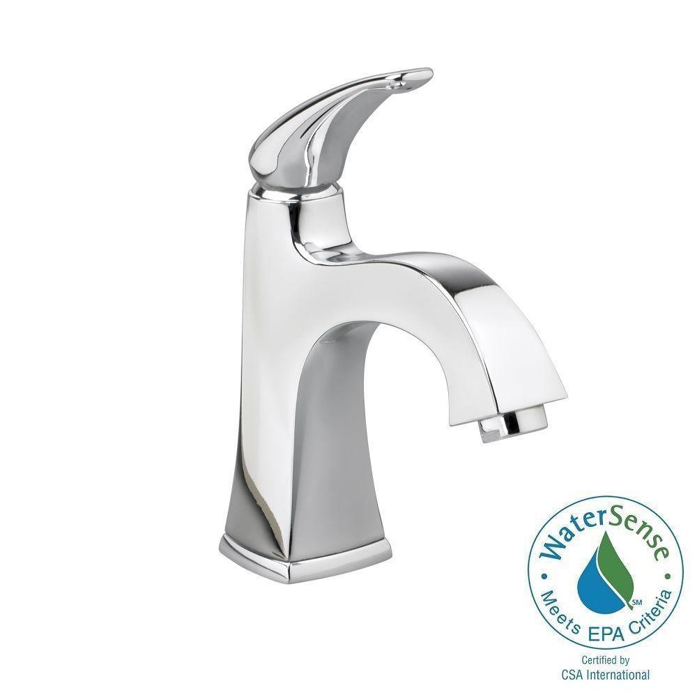 Copeland Monoblock Single Hole Single Handle Bathroom Faucet in Polished Chrome