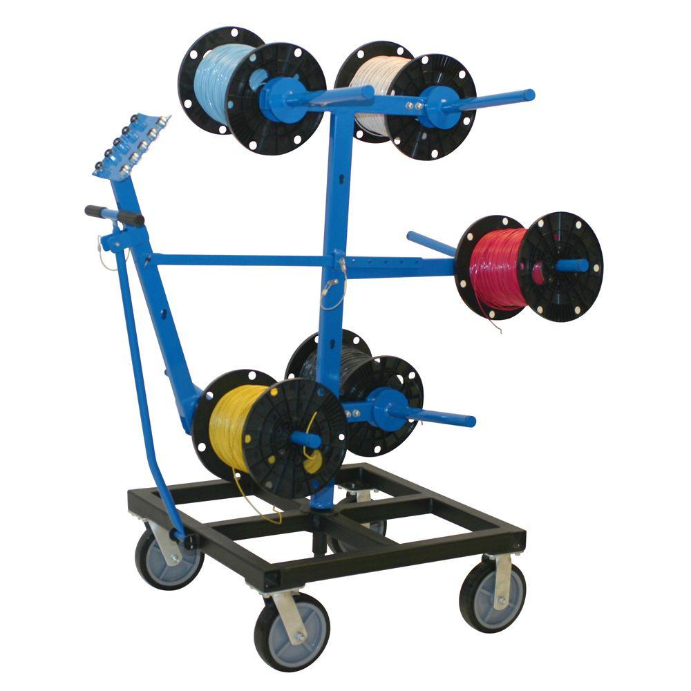 Cable Reels Product : Madison electric products wire smart reel dispenser