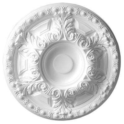 23-5/8 in. x 2-3/4 in. Leaf Polyurethane Ceiling Medallion