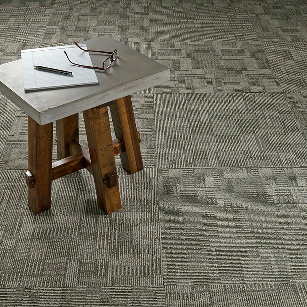 Royce Zone Loop 24 in. x 24 in. Carpet Tile (18 Tiles/Case)