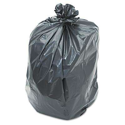 55 Gal. 80% Recycled Content Linear Low Density Repro Trash Can Liners (100-Count)