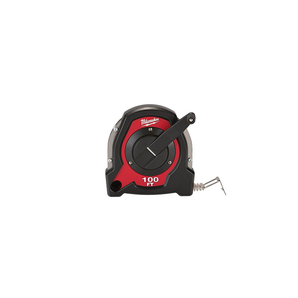 Milwaukee 100 ft. Closed Reel Long Tape Measure