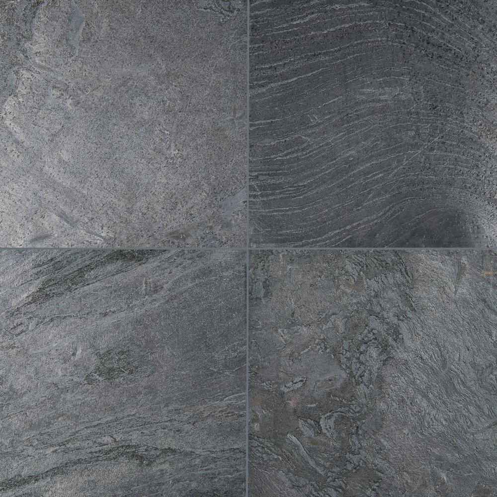 Honed Quartzite Floor