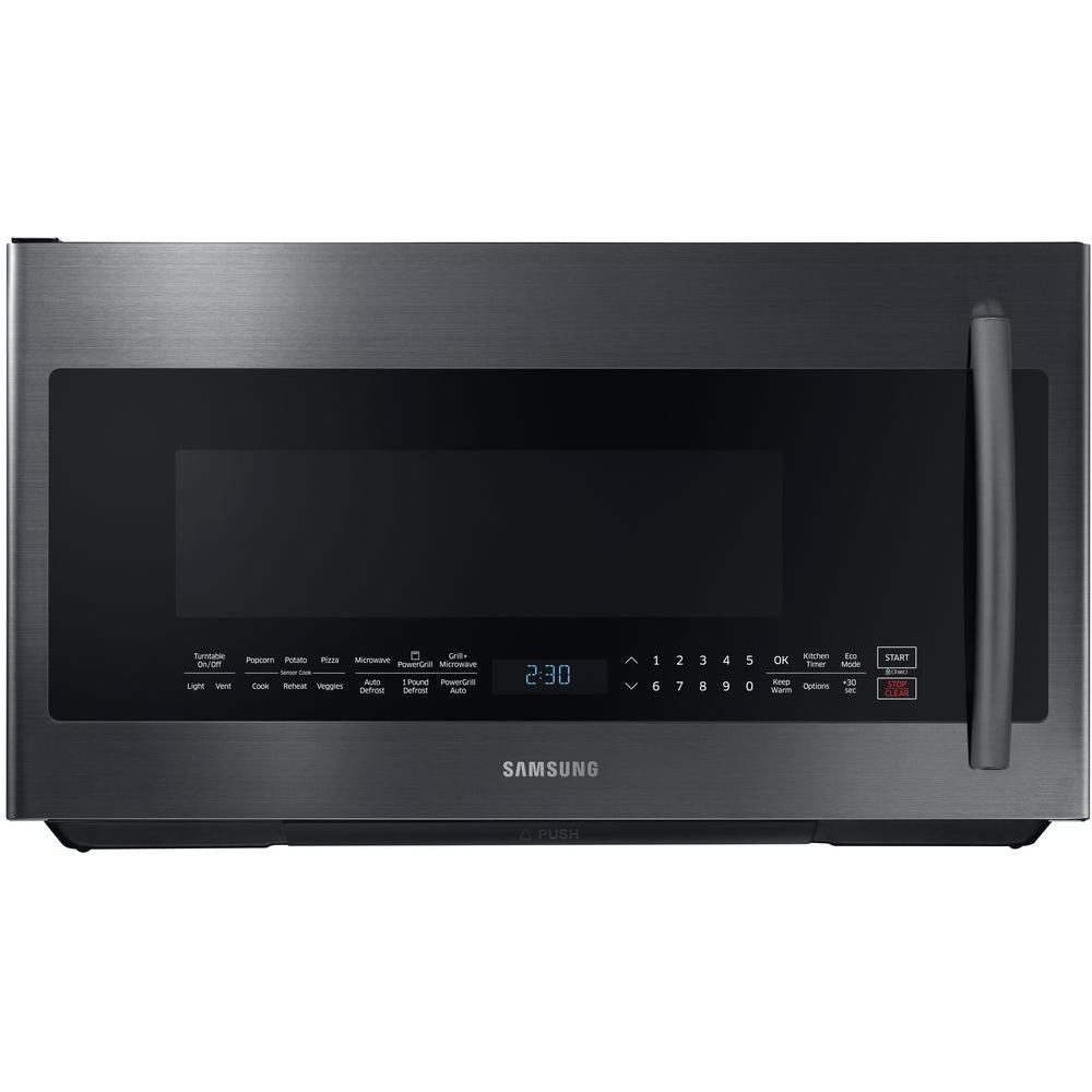 Samsung Microwaves Over Range: Samsung 2.1 Cu. Ft. Over The Range PowerGrill Microwave