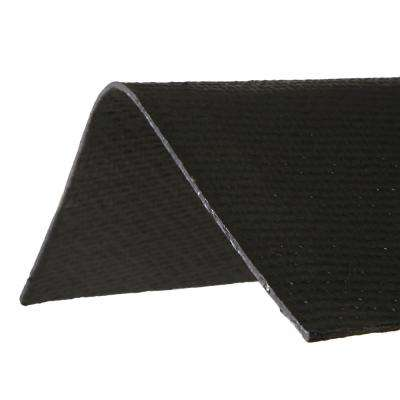 3.3 ft. x 12-1/2 in. Black Ridge Cap Asphalt Roof Panel
