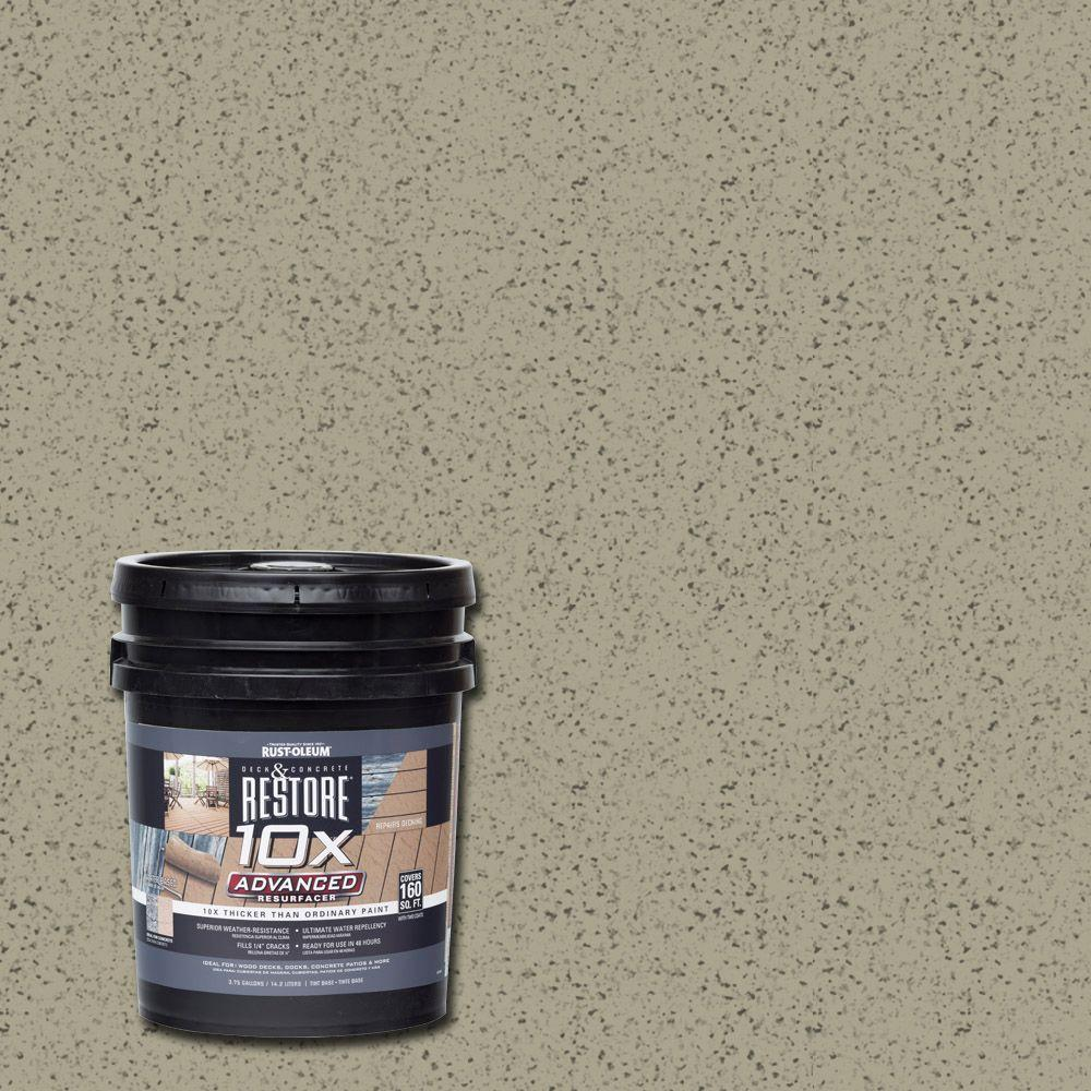 4 gal. 10X Advanced Putty Deck and Concrete Resurfacer